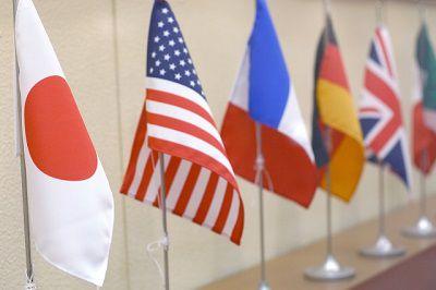 外国人 交渉 国旗